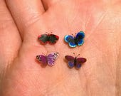 RESERVED for Cindi - 4 Sweet Little 1:6 Scale Miniature Butterflies