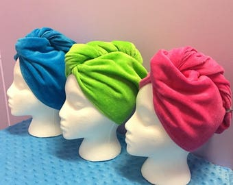 Hair Turban Personalized Just For You With A 3 Letter Monogram
