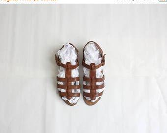 25% SALE vintage leather sandals