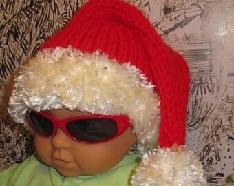 50% OFF SALE Instant Digital PDF File Baby Ho Ho Ho Superfast Santa Hat pdf download knitting pattern