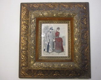 SALE...FRAME, Gorgeous Frame, Ornate Frame, Gold Gilt Frame 21 x 28