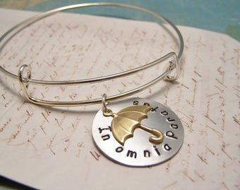 In Omnia Paratus Bracelet.S.Ready For Anything: Gilmore Girls. Rory. Logan. Life and Death Brigade. Adjustable