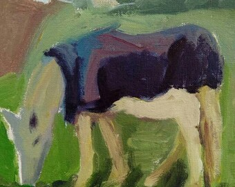 Horse study 1- original acrylic painting