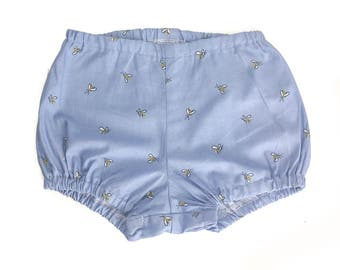 Bloomers + Shorts + Diaper Cover