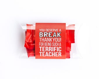 Teacher Appreciation: You Deserve a Break