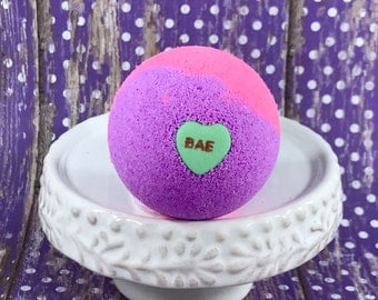 SWEET NOTHINGS Bath Bomb, Acai/Lemon/Strawberry/Rose, 2.3 oz