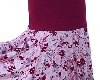 JUANA skirt, Flamencita design, Professional Flamenco spanish skirt. Tribal fusion skirt.