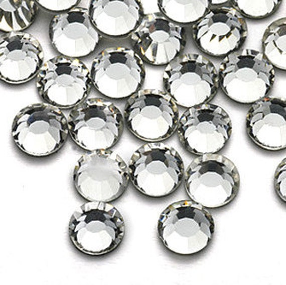 100 Acrylic Round Faceted Flat Back Rhinestone Gem 11mm Clear Crystal FREE Combine Shipping US Scrapbooking iPhone Case LR134
