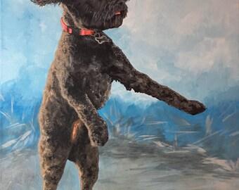 "Custom Pet Painting-16x20"""