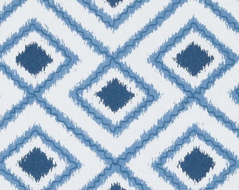 Duralee DA61399-5 BLUE rod pocket, high end designer curtain panels, drapes,