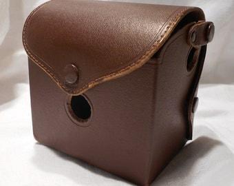 Vintage 1940s ANSCO Camera Case Antique Square Brownie 1950s 1960s