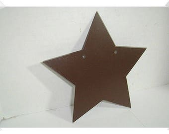 "Rusted Tin Star/ 5"" / Single /Craft Supplies*"