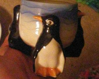 Vintage 3 Penguin Bowl - Japan