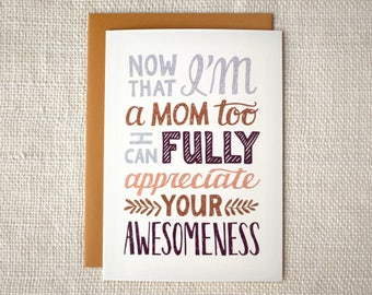 Mother's Day Card - Your Awesomeness
