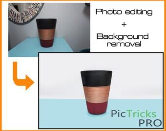 Photo Editing + Background Removal [ Photoshop / Photo editing ]