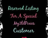 Special listing for Lindsay