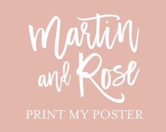 Print My Poster Upgrade