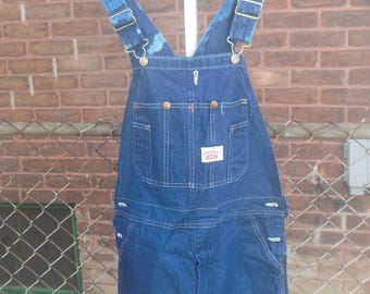WHOLESALE / dungarees overalls / 90s / distressed dye accent / oversize / cotton / 25 bust / adjustable length / 35 inseam / savannahwillow