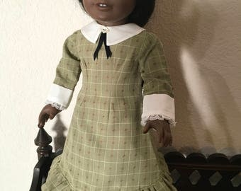 Little House on the Prairie Style outfit for 18 inch doll