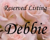 "Reserved Listing for Debbie 8-9"" Colorful Furniture Applique_Deposit Only"