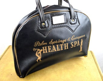 Vintage 60s Palm Springs Health Spa Tote Bag