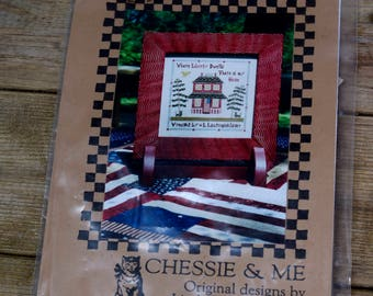 Chessie and Me Liberty House Sampler Embroidery Kit