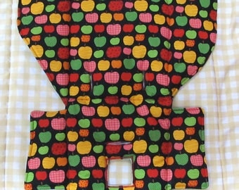 Evenflo high chair cushion, high chair cover, high chair replacement pad, baby accessory, baby and child care,baby feeding chair pad, apples