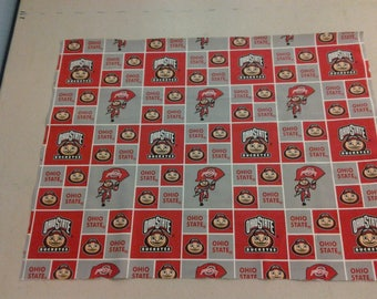 Ohio State Buckeyes Fabric 247767