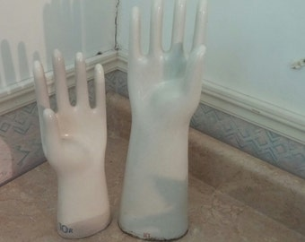 Vintage Porcelain Jewerly Hands