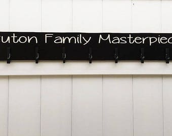 Art Display // Family Masterpieces // Art Work Display // Kid Wall Art // Art Display // Personalized Family Signs // Family Art Board