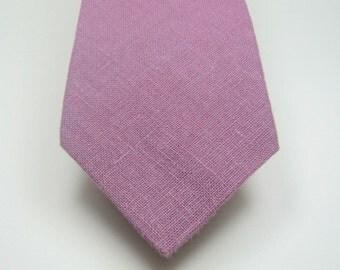 Lavender Neckties Linen Neckties Skinny Neckties Lavender Linen Neckties Mens Neckties Wedding Neckties