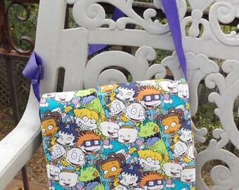 RugRats Messenger Bag  / Hip Bag  Medium Size Crossbody  Nickelodeon