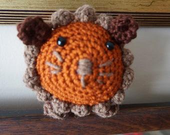 Lion, Amigurumi, amigurumi toy, lion toy, stuffed animal, amigurumi lion