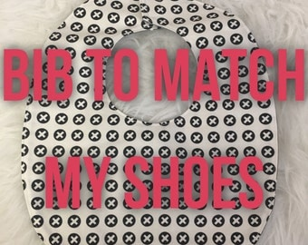 Add a Matching Bib to Any Pair of Shoes - Made to Order