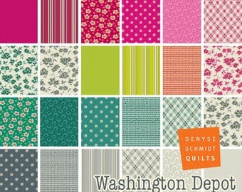 PREORDER: Washington Depot - Fat Eighth Bundle by Denyse Schmidt - Full Collection - 23 prints