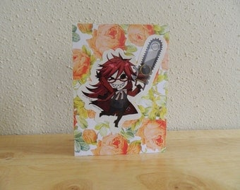 Black Butler Grell card