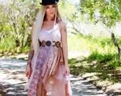 M L Mother's Day Slip dress, Boho dresses, Bohemian gypsy sundress, Hippie clothing, Spring Music Festival Clothing, True rebel clothing