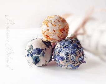 Wildflower Seed Bombs, 10 Plant-able Botanical Seed Bombs ™  Gardening  Gift, eco-friendly, Herb Seed Bombs Rainbow of colors