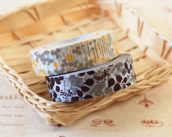 Bird and Little Garden Classiky Ten to Sen washi masking tape set B