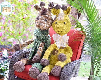 NEW  PATTERN - Rusty the Giraffe Big Amigurumi Crochet PDF Pattern with Instant Download