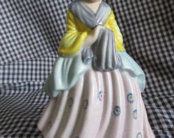 Occupied Japan Ceramic Colonial Woman