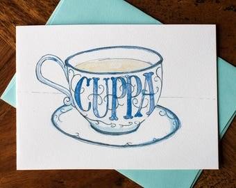 Cuppa Tea - Card