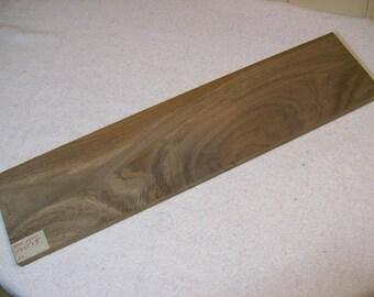 Black Walnut Board / Lumber / Exotic Grain Walnut / 24 X 5 1/2 X 3/4 Inches / A18