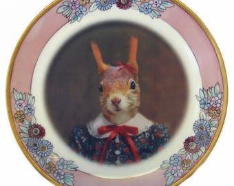 """Stephanie, School Portrait Plate 7.65"""""""