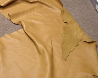 852AP.  Palomino Leather Cowhide Partial