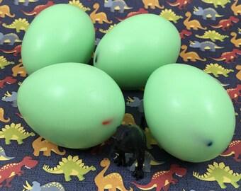 Dinosaur Egg Goat's Milk Soap With Dinosaur Toy Hidden Inside   Children's Soap   Gift for Kids   Soap Favor   Soap for Kids   Egg Soap