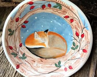 Sleep Gently Little Fox - Fox Bowl