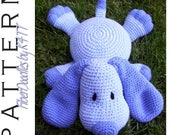 INSTANT DOWNLOAD : Pillow Pal Puppy Crochet Pattern