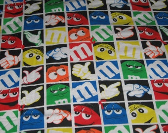 M & M Flannel Quilt Throw