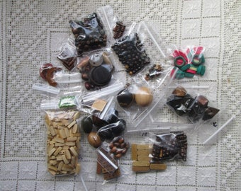 Wood Bits and Pieces Grab Bag
